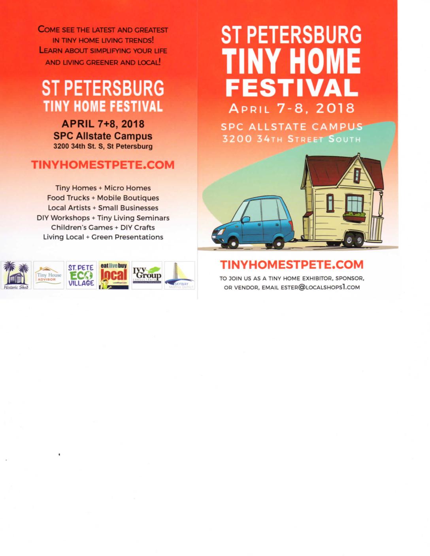 St  Petersburg Tiny Home Festival - Skyway Marina District